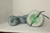 Yarn Set Colorway Thistle Green DtO